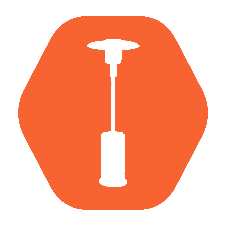 Tansun Monaco XL 4800 Watt Wit (RAL 9010)