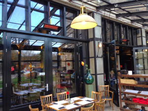 Terrasverwarming bij restaurant Wittern in Veghel